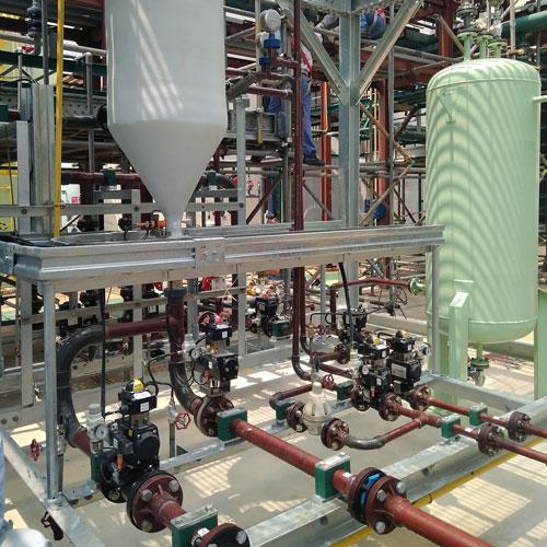 Membrane Filtration installation for brine filtration