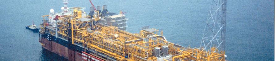 FPSO ship at sea