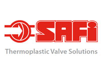 Logo of SAFI Valves, Thermoplastic Valve Solutions